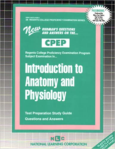 Buy Introduction to Anatomy and Physiology: Test Preparation