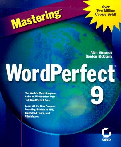 Mastering Wordperfect 9
