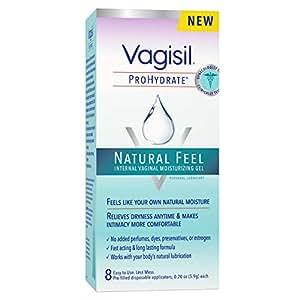 Vagisil Prohydrate, Internal Vaginal Moisturizing Gel, 8 Count