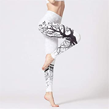 LLCP Pantalones de Yoga, Mujer Imprimir Pantalones de ...