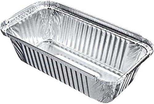 500 x grande rectangular Alimentos Fríos y calientes Recipientes de aluminio caja/Takeaway Cafe Retail: Amazon.es: Hogar