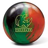 Brunswick Rhino Black/Green/Orange, 15lbs