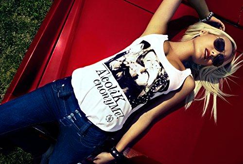 Lost in Paradise Marilyn slim netted dark washed - Bestseller - Jeans Damen Denim
