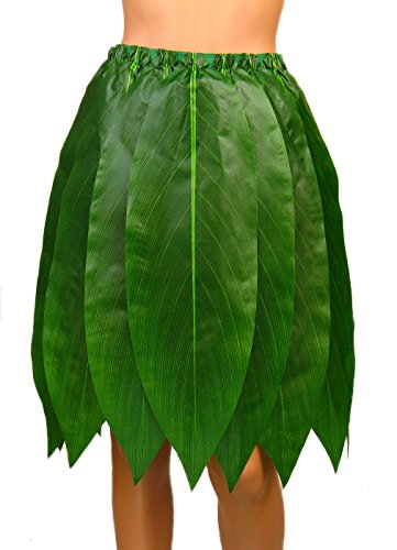 Hawaiian Poly-Silk Ti Leaf Hula Skirt - Adult Size