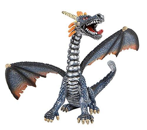75594 - BULLYLAND - Dragon gris assis