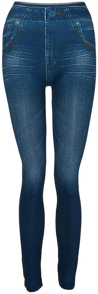 Maglia Eleganti Leggings Sport Opaco Yoga Fitness Spandex Palestra Pantaloni Leggins Push Up Homebaby Leggings Sportivi Donna Tasca per Pantaloni in Denim