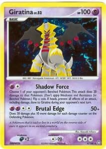 Pokemon Legends Awakened #4 Giratina LV.52 Holofoil Card [Toy]
