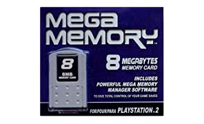 Datel Mega Memory 8 for PS2