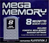 Datel Mega Memory 8 for PS2
