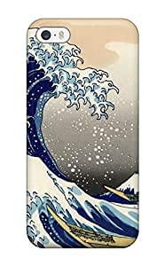Premium Protection Japanese Artistic Case Cover For Iphone 5/5s- Retail Packaging