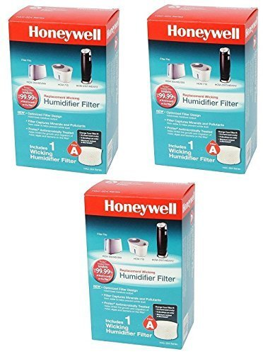 Honeywell HAC504V1 Replacement Filter For Natural Cool Moisture Humidifiers by Kaz Usa Inc