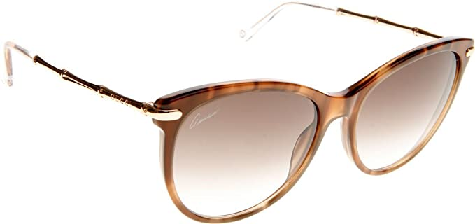 Amazon.com: Gucci # 3771 Mujer Bambú Templo anteojos de sol ...