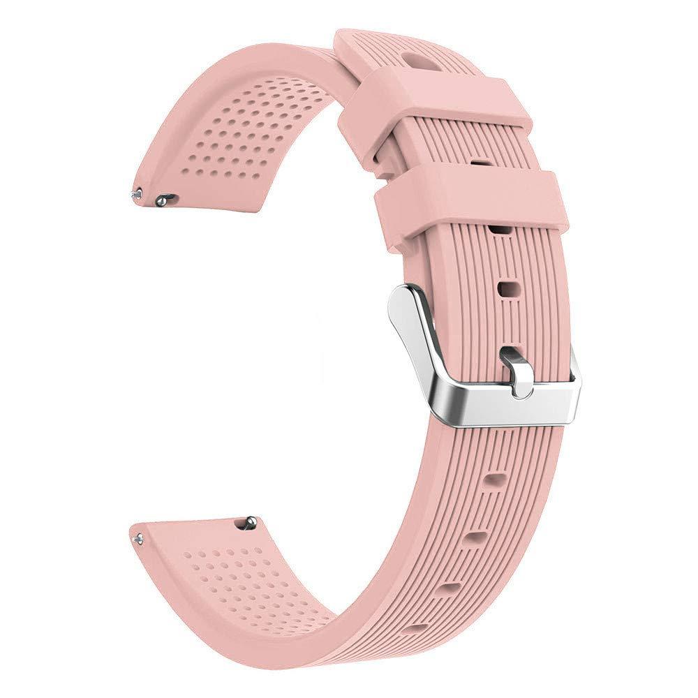 Lovewe Samsung Galaxy Watch Sport Soft Silicon Accessory,Watch Band Wirstband For Samsung Galaxy Watch 42mm (Pink)