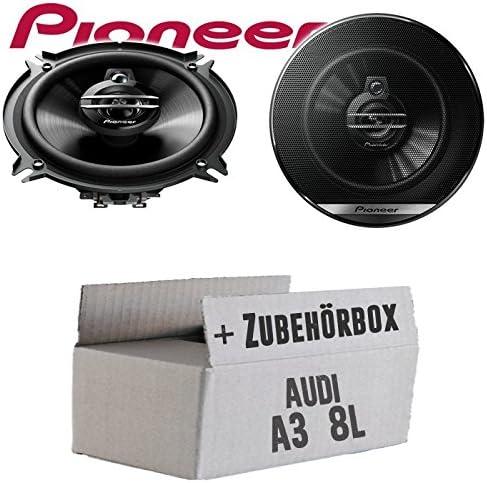 Lautsprecher Boxen Pioneer Ts G1330f 13cm 3 Wege 130mm Triaxe 250w Auto Einbausatz Einbauset Für Audi A3 8l Just Sound Best Choice For Caraudio Navigation