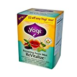 Yogi Tea Og3 Refrsh Mint Revit 16 Bag