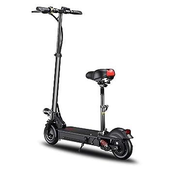 TOOSD Scooters eléctricos para Adultos Plegable 10 Pulgadas ...
