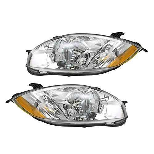 Headlight Head Lamp PAIR for Mitsubishi Eclipse 07-11