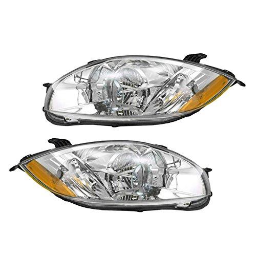 Headlight Head Lamp PAIR for Mitsubishi Eclipse 07-11