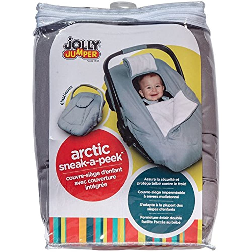 Admirable Details About Jolly Jumper Arctic Sneak A Peek Car Seat Cover With Attached Blanket Grey Gift Pabps2019 Chair Design Images Pabps2019Com
