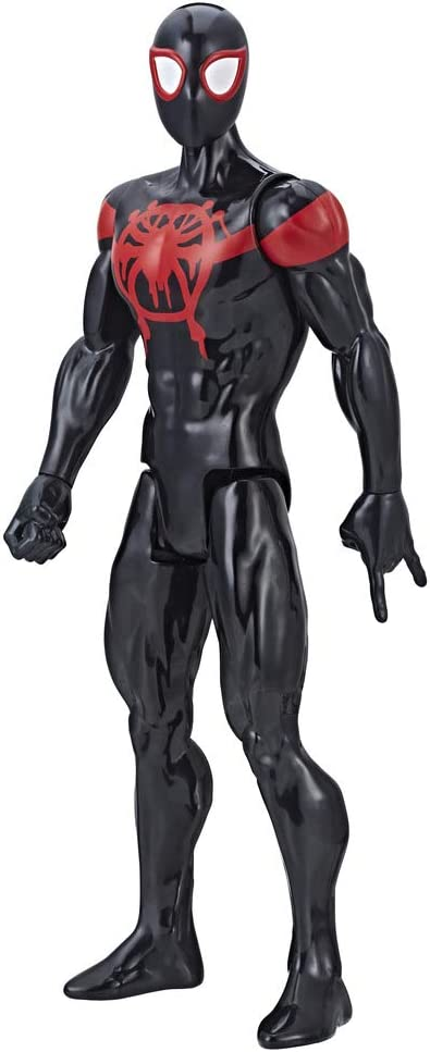 Spider-Man: Into The Spider-Verse Titan Hero Series Mile Morales with Titan Hero Power Fx Port Action Figures E2903