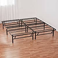 Mainstays Innovative Metal Platform Base Bed Frame, Queen