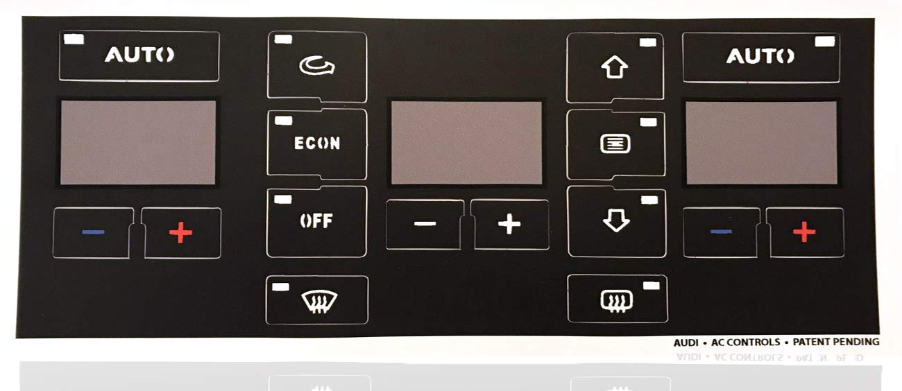 AC Button Repair Kit For Audi A4 A6 B6 B7 - Easily Fix Your Ugly Faded A/C Controls For Your Audi Vehicle by AcButtons