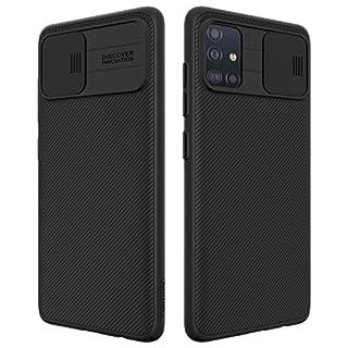 Nillkin Galaxy A51 Case with Camera Cover,Galaxy A51 Cover Protective with Slide Camera Cover, Upgraded Case for Galaxy A51, 6.5 inch