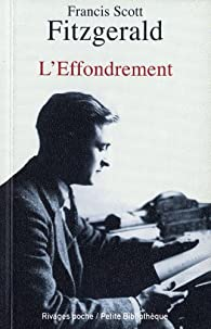 L'effondrement par Francis Scott Fitzgerald