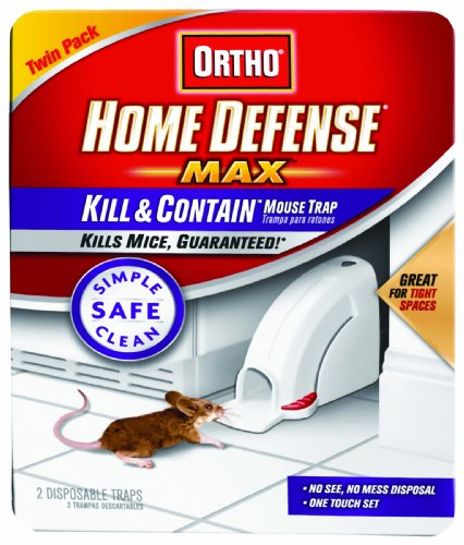Ortho 0320110 Home Defense MAX Kill Contain Mouse Trap, (Older Model) by Ortho