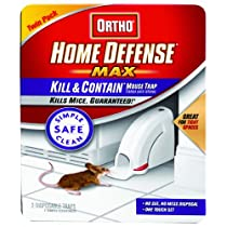 Ortho 0320110 Home Defense Max Kill & Contain Mouse Trap Disposable 2-Pack