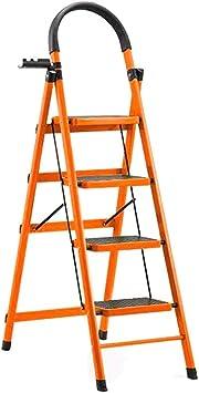 Casa Un lado de hierro Escaleras de doble uso marco de la escalera de podar del