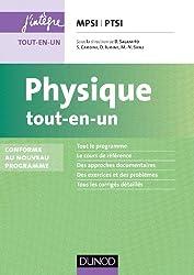 Physique tout-en-un MPSI-PTSI - Conforme au nouveau programme
