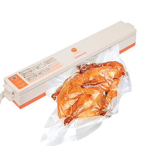 Mini Vacuum Sealers, Dragon-hub Vacuum Package Machine with Magnet Pouch Set, Best for Food Storage, Bonus with 15 Antibacterial Plastic (Vacuum Package Machine)