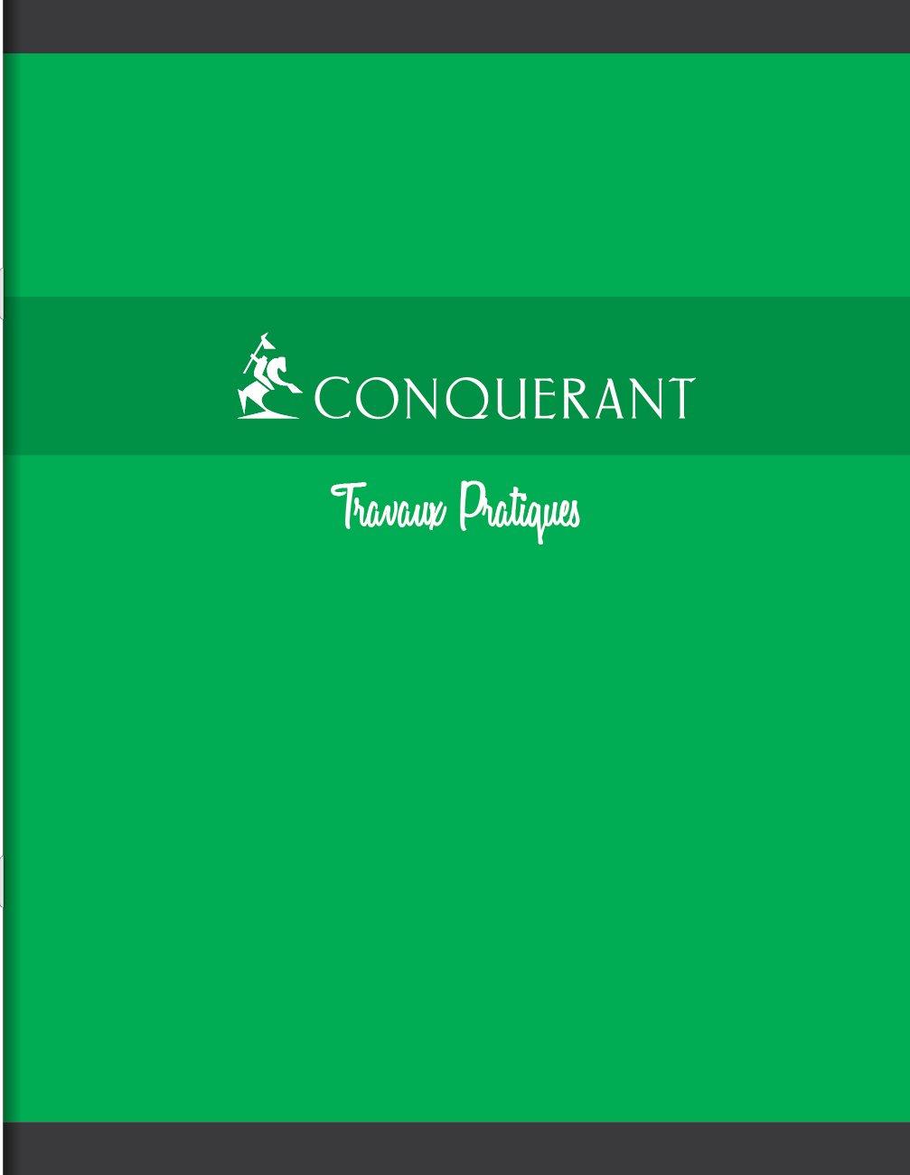 170/x 220/mm Conqu/érant Sept 100103720/Conquerant Cahier Travaux pratiques