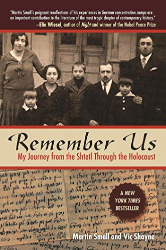 Remember Us: My Journey from the Shtetl through the Holocaust cover