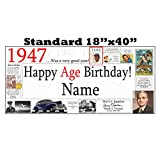 1947 PERSONALIZED BANNER by Partypro