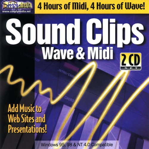 Sound Clips: Midi & Wave by Simply Media