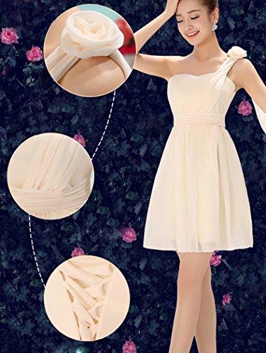 LaoZan Vestiti Abiti da Cocktail Sera Corto Elegante e Affascinante per Donna - Colore4 - M (84CM/33)