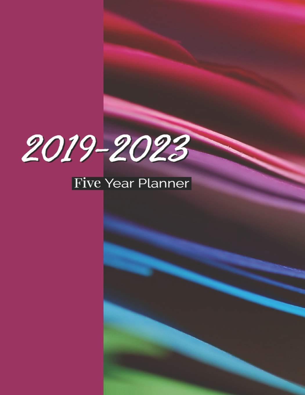 Amazon.com: 2019-2023 Five Year Planner: 60 Months Calendar ...