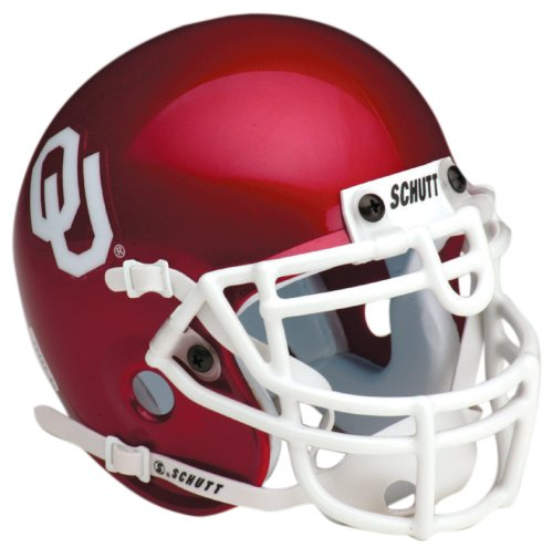Helmet Sooners Mini Oklahoma (Schutt NCAA Oklahoma Collectible Mini Football Helmet)