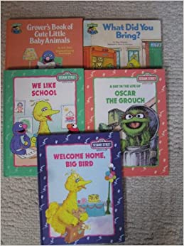 Sesame Street Book Club - We Like School, A Day in the ...