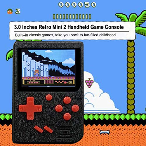 Christmas Best Smartphone!!Kacowpper Retro Mini Handheld Video Game Console Gameboy Built-in 400 Classic Games by Kacowpper (Image #2)