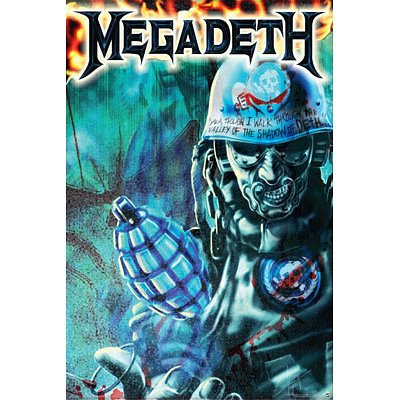 Megadeth  Music Poster Print