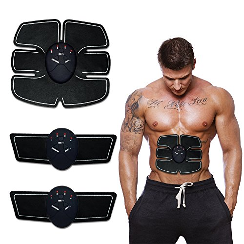 - KONMED Wireless ABS Muscle Toner Abdominal Muscle Trainers Workout Home Office Fitness Equipment For Abdomen/Arm/Leg Training Men Women