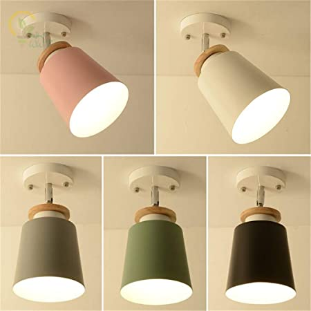 Amazon.com: NesHenost Modern Colour Led Ceiling Lamps Nodic ...