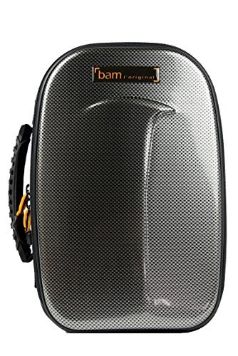 Bam New Trekking 1 Bb Clarinet Case - Silver Carbon - (Best Silver Clarinet With Cases)