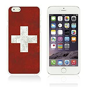Flag Pattern Hard Back Case Cover For SamSung Galaxy S5 Mini Smartphone Switzerland