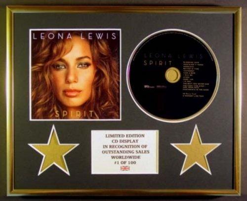LEONA LEWIS/CD Display/Limitata Edizione/Certificato di autenticità /SPIRIT Everythingcollectible H1-YYZG-PC9X