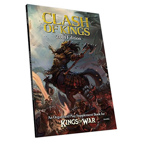 Mantic Jeux Mgkw14Clash of Kings 2018 Mantic Games