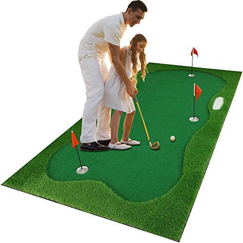 Luricaa Golf Putting Green Mat for Indoor Outdoor